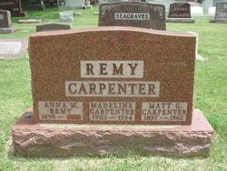 Madeline G <i>Remy</i> Carpenter