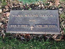 Wilma Maxine Sailors