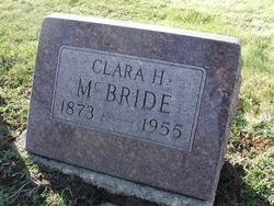 Clara H. <i>Shelburn</i> Mcbride