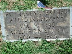 Pvt James Mills Barnes