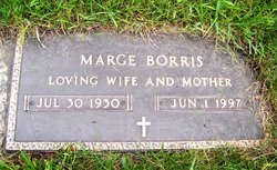Margaret Eleanor Marge <i>Miller</i> Borris