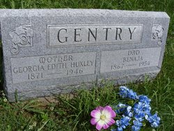 Georgia Edith <i>Huxley</i> Gentry