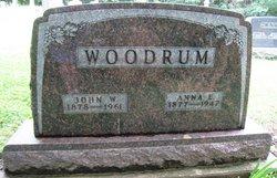 Anna E <i>Powell</i> Woodrum