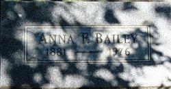 Anna F <i>Charlton</i> Bailey