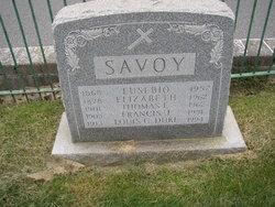 Elizabeth <i>Toscani</i> Savoy