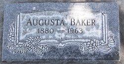 Augusta Gusta <i>Sutton</i> Baker