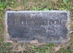 Maude Violet <i>Stafford</i> Benson