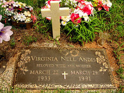 Virginia Nell <i>Wood</i> Andis