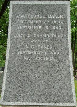 Lucy C <i>Chamberlain</i> Baker
