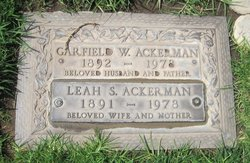 Garfield W Ackerman