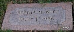 Bertha M. Witt