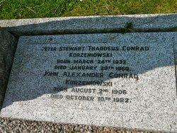 Peter Stewart Thaddeus Conrad Korzeniowski