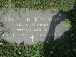 Ralph N Bingman