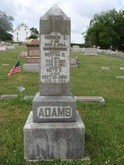Bertha C. Adams