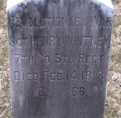 Sgt Henry Whitney