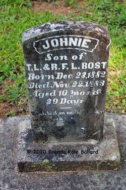 John Johnie Bost