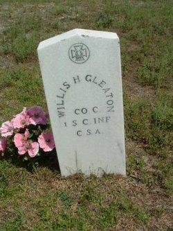 William H Colonel Willis Gleaton