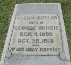 Regina <i>Butler</i> Benzie