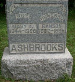Mary A. <i>Bennett</i> Ashbrooks