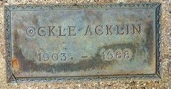 Ockle Acklin