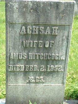 Achsah <i>Hendee</i> Hitchcock