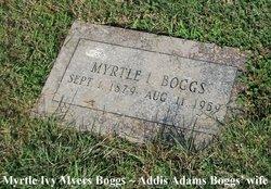 Myrtle Ivy <i>Myers</i> Boggs