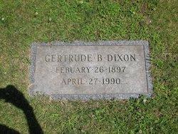 Gertrude Louise <i>Barker</i> Dixon