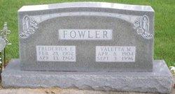 Frederick Eugene Fowler