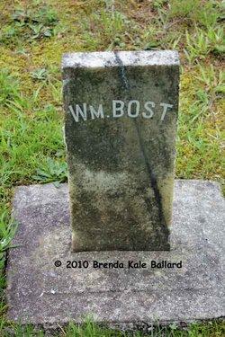 Pvt William M Bost