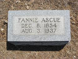 Marriah Francis Fannie <i>Kemp</i> Ascue