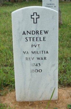 Pvt Andrew Steele