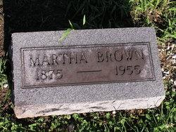 Martha Bell <i>Sims</i> Brown