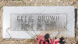 Effie <i>Riley</i> Brown