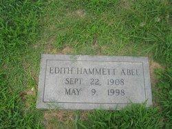 Edith <i>Hammett</i> Abee