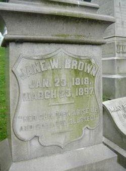 Jane Walker <i>Hays</i> Brown