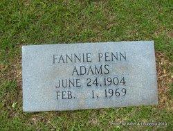 Fannie <i>Penn</i> Adams
