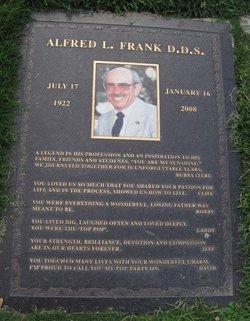 Dr Alfred L Frank