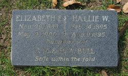 Hallie Wannamaker Bull