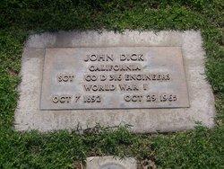 John D Dick