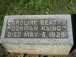 Mrs Caroline Denman <i>Beatty</i> Kling