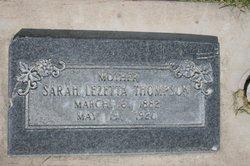 Sarah Lezetta <i>Oyler</i> Thompson