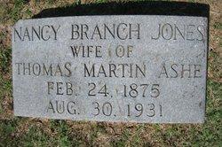 Nancy Branch <i>Jones</i> Ashe