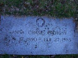 Anna Eliza <i>Chase</i> Anthony