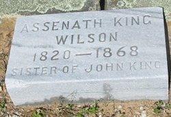 Assenath Seny <i>King</i> Wilson
