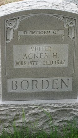 Agnes H. <i>Hammond</i> Borden
