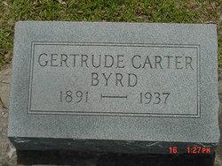 Gertrude <i>Carter</i> Byrd