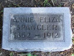 Annie Eliza <i>Parr</i> Spangler