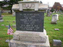 Martha A <i>Appleget</i> Applegate