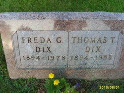 Freda <i>Gast</i> Dix