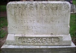 Mrs Adeline H. Haskell